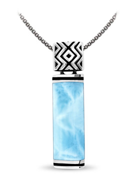 MarahLago Omni Collection Larimar Pendant / Necklace