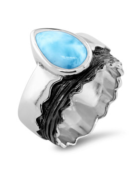 MarahLago Jaxx Collection Larimar Ring - 3x4