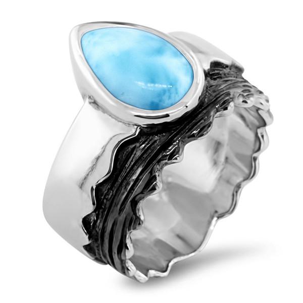 MarahLago Jaxx Collection Larimar Ring