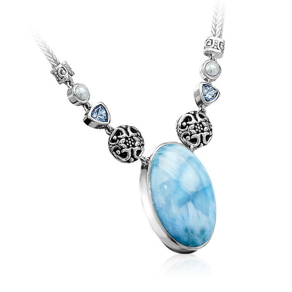 Larimar Necklace Pendant Choice Image Home And Lighting