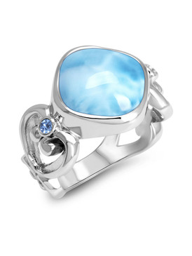 MarahLago Harmony Collection Larimar Ring