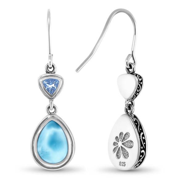 MarahLago Ilona Collection Larimar Earrings