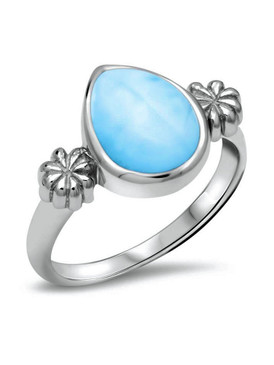 MarahLago ML Logo Collection Larimar Ring - 3x4