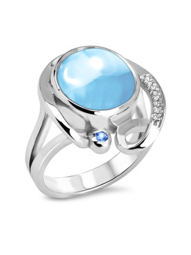 MarahLago Mia Collection Larimar Ring