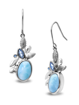 MarahLago Tiana Collection Larimar Earrings - 3x4
