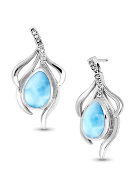 MarahLago Willow Collection Larimar Earrings