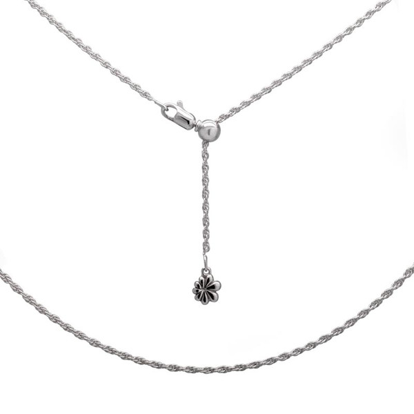 MarahLago Sterling Silver Loose Rope Chain