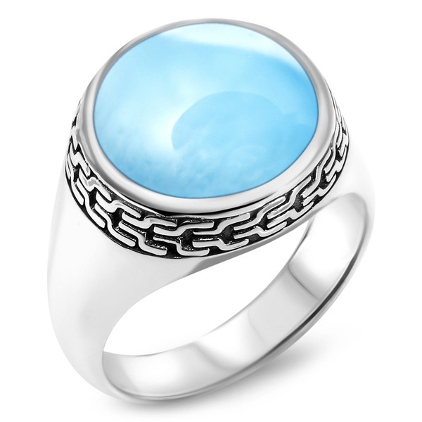 MarahLago Tonela Collection Larimar Ring
