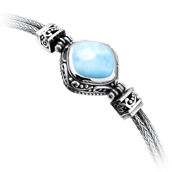 MarahLago Woodland Larimar Bracelet