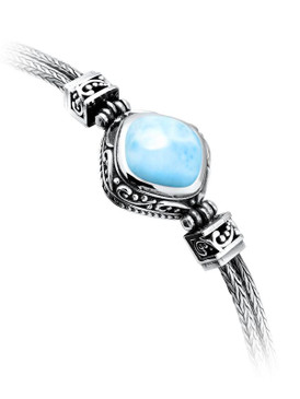 MarahLago Woodland Collection Larimar Bracelet
