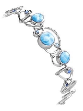 MarahLago Mia Collection Larimar Bracelet