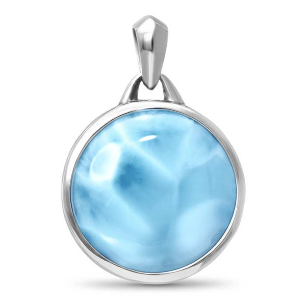 MarahLago Tonela Collection Men's Larimar Necklace