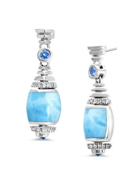 MarahLago Xia Collection Larimar Earrings