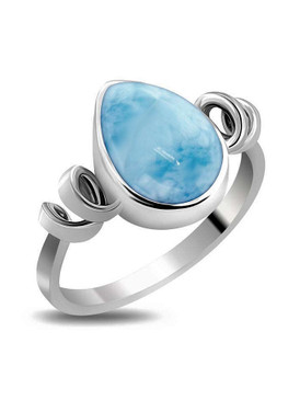 MarahLago Hydra Collection Larimar Ring - New Design
