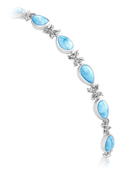 MarahLago Ariel Collection Larimar Bracelet