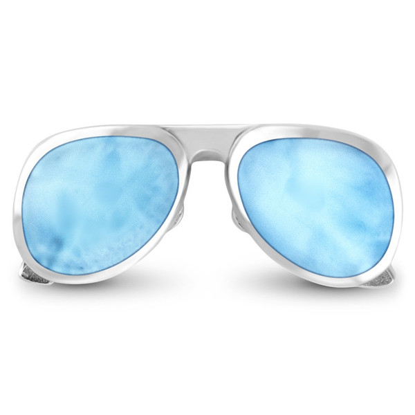 MarahLago SeaLife Larimar Sunglasses Necklace