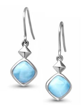 MarahLago Maya Larimar Earrings - 3x4