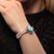 MarahLago Mist Larimar Bracelet with White Sapphire & Freshwater Pearl - model alt