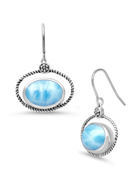 MarahLago Twine Larimar Earrings - 3x4