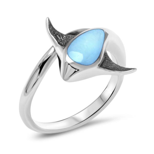 MarahLago Stingray Larimar Ring