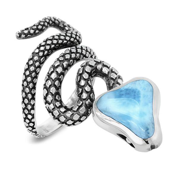 MarahLago Snake Larimar Ring