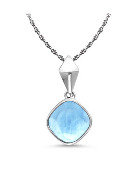 MarahLago Maya Larimar Necklace - 3x4
