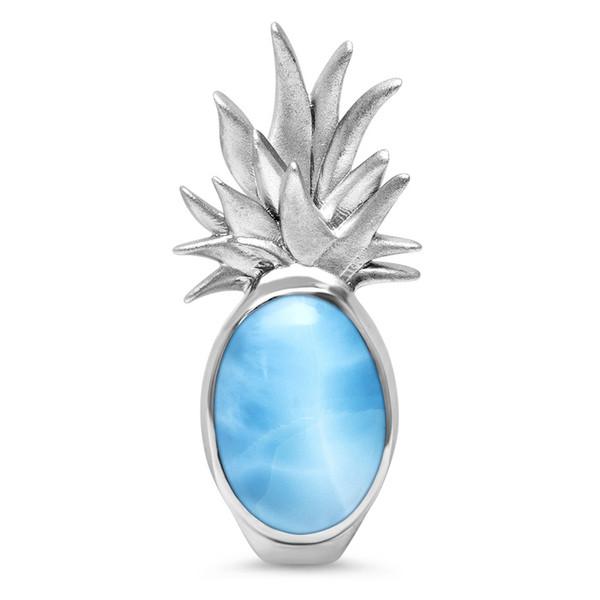 MarahLago Pineapple Larimar Necklace