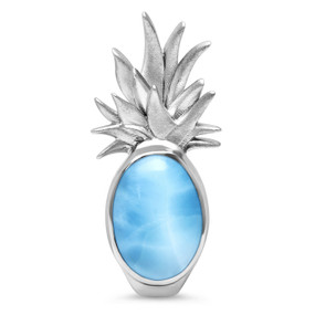 MarahLago Pineapple Larimar Necklace