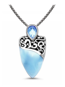 MarahLago Haven Larimar Necklace