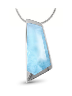 MarahLago Nile Larimar Necklace - 3x4
