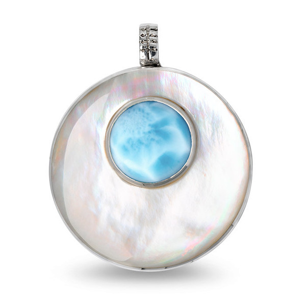 MarahLago Athena Petite Larimar Necklace