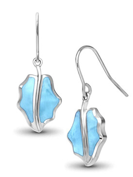 MarahLago Fall Larimar Earrings - 3x4