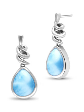 MarahLago Muse Larimar Earrings - 3x4