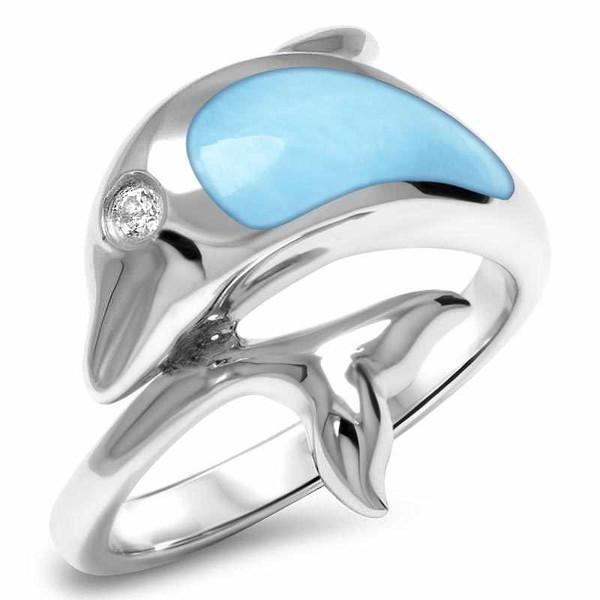 MarahLago Dolphin Larimar Ring