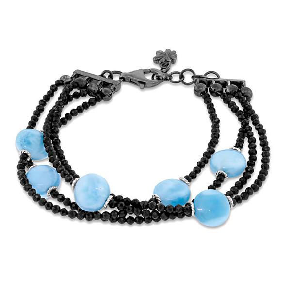 MarahLago Galaxy Bracelet with Black Spinel