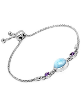 MarahLago Hideaway Bracelet with Amethyst - 3x4