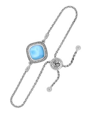 MarahLago Radiance Cushion Larimar Bracelet - 3x4