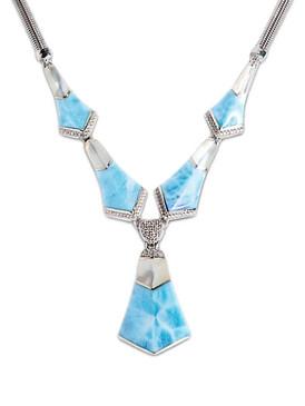 MarahLago Calder Larimar Necklace - 3x4