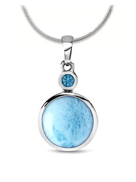 MarahLago Splash Larimar Necklace - 3x4