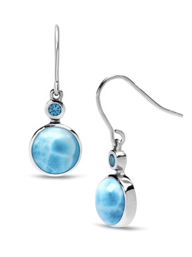 MarahLago Splash Larimar Earrings - 3x4