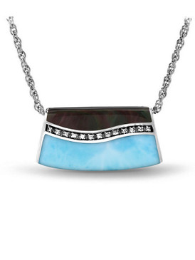 MarahLago Horizon Larimar Necklace - 3x4