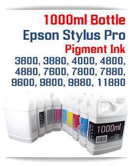 Epson Stylus Pro Printers Compatible UltraChrome Pigment Ink 1000ml Bottle