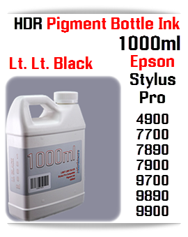 1000ml bottle UltraChrome HDR Pigment Ink Compatible with Epson Stylus Pro Printers 4900, 7890, 7900, 9890, 9900