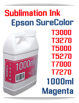Magenta Sublimation Ink 1000ml Epson SureColor T-Series Printers