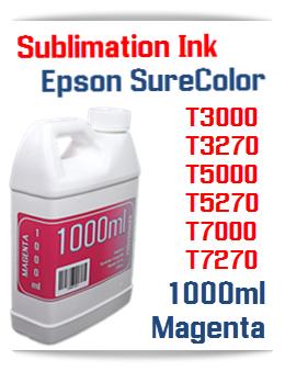 Magenta Sublimation Ink 1000ml Epson SureColor T-Series Printers