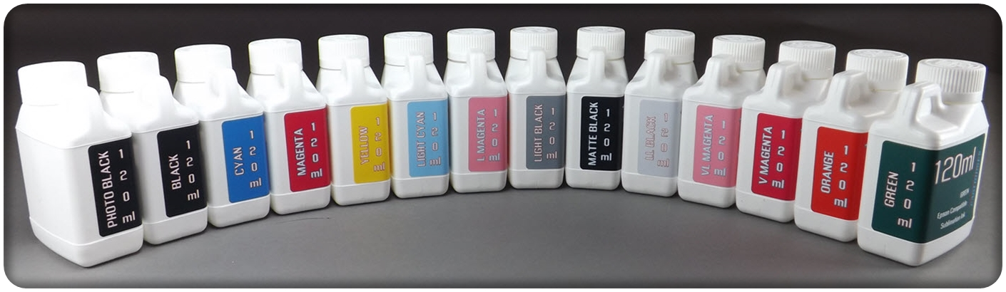 120ml Sublimation Refill Ink Epson Small Format Printers