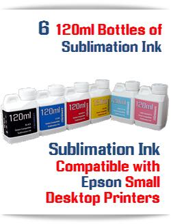 6 120ml Bottles Sublimation ink