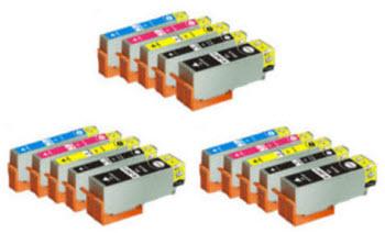 Quick 15 - Included Cartridges: 3-T273XL020 Black 3-T273XL220, Cyan, 3-T273XL320 Magenta, 3-T273XL420 Yellow, 3 -T273XL120 Photo Black Expression Premium XP compatible ink cartridges