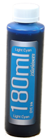 Light Cyan 180ml bottle Epson Compatible Dye Ink