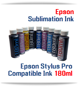 180ml Sublimation Refill ink Epson Stylus Pro Printers